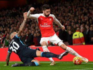 Prediksi Arsenal vs Manchester City 2 April 2017